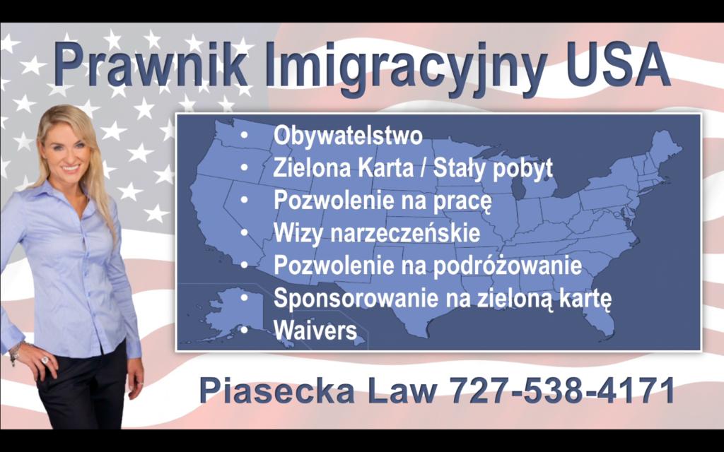 Prawnik Imigracyjny USA Piasecka Law Flag