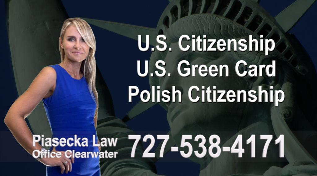 Polish Immigration Lawyer Polski Prawnik Imigracyjny U.S. Citizenship, U.S. Green Card, Polish Citizenship, Attorney, Lawyer, Agnieszka Piasecka, Aga Piasecka, Piasecka, Florida, US, USA, 1