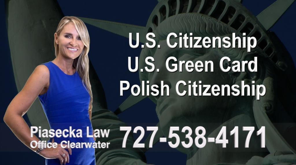 Polish Immigration Lawyer Polski Prawnik Imigracyjny U.S. Citizenship, U.S. Green Card, Polish Citizenship, Attorney, Lawyer, Agnieszka Piasecka, Aga Piasecka, Piasecka, Florida, US, USA, 2