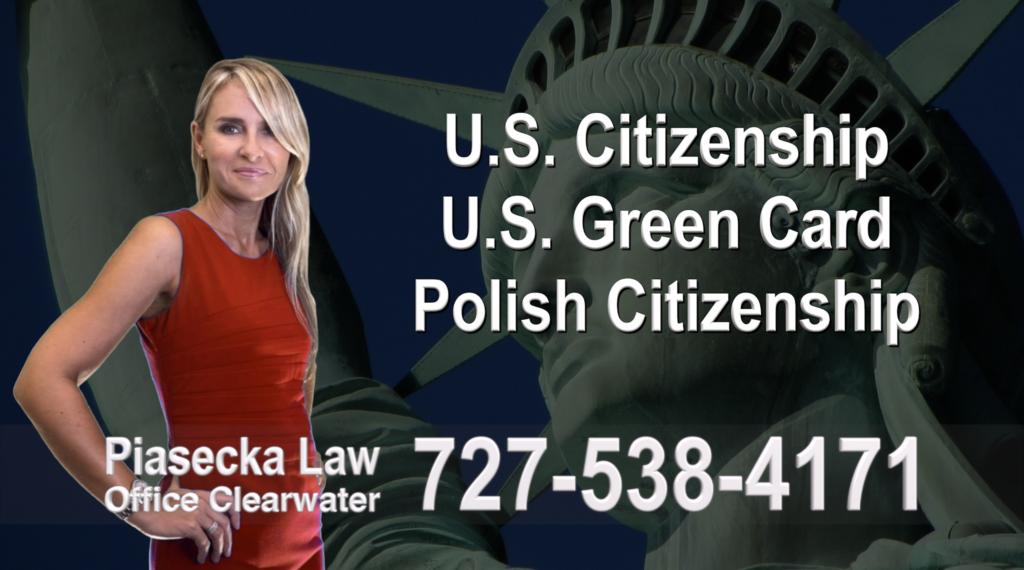 Polish Immigration Lawyer Polski Prawnik Imigracyjny U.S. Citizenship, U.S. Green Card, Polish Citizenship, Attorney, Lawyer, Agnieszka Piasecka, Aga Piasecka, Piasecka, Florida, US, USA,